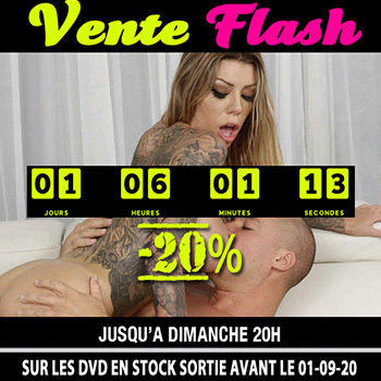 Vente Flash DVD 26-27 Septembre 2020